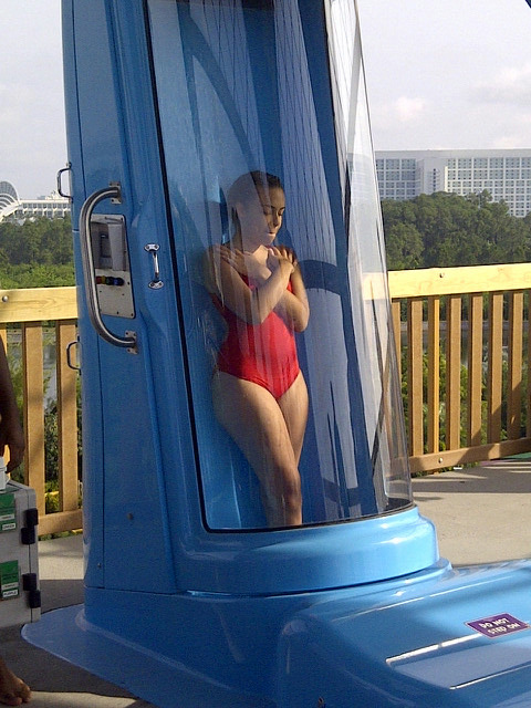 Aquatica's Ihu's Breakaway Capsule closed.