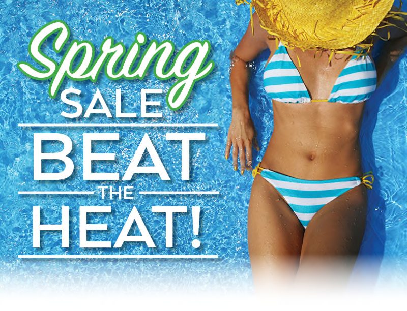 Global Spring Sale Beat the Heat