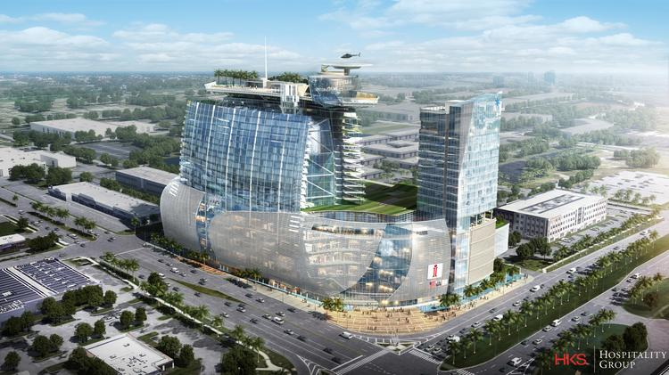 iSquare Mall Rendering