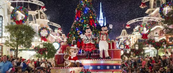 Disney Gets Ready For Mickey's Very Merry Christmas!
