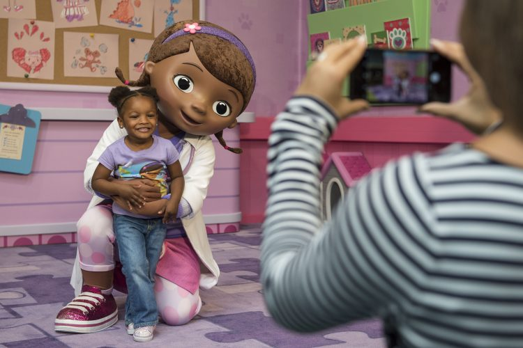 Doc McStuffins at Disney's Animal Kingdom