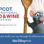 Experience the Food & Wine Festival today!