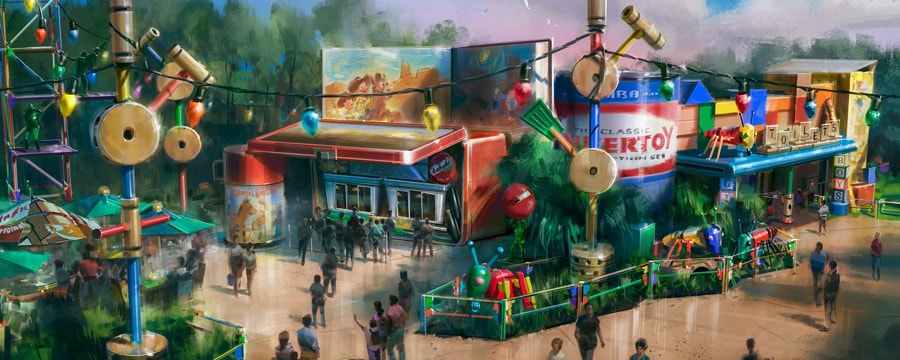 Disney S Toy Story Land To Open On June 30th
